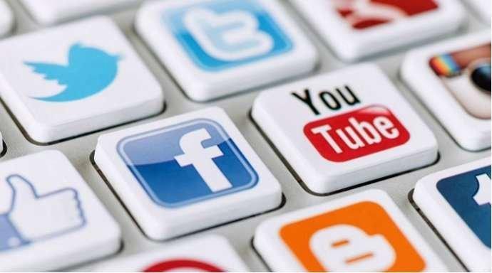 facebook, yutube, tvitter, instagram