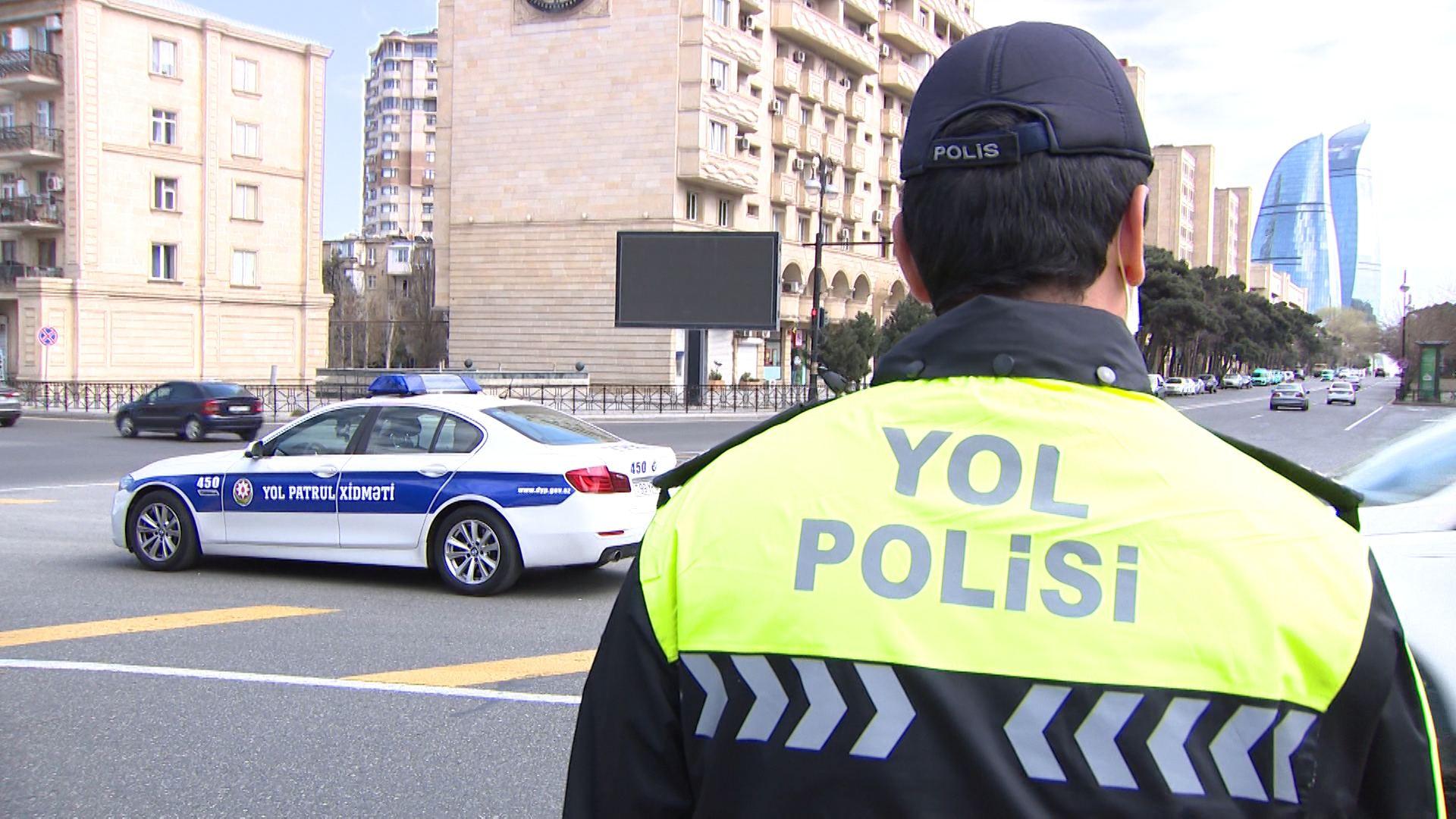 Yol polisi nəqliyyat vasitəsini hansı hallarda saxlaya bilər?